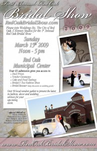 posterforweb-194x300 Kinney Studios hosts the Red Oak Bridal Show